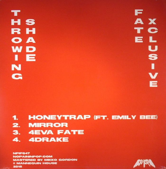 THROWING SHADE - Fate Xclusive EP