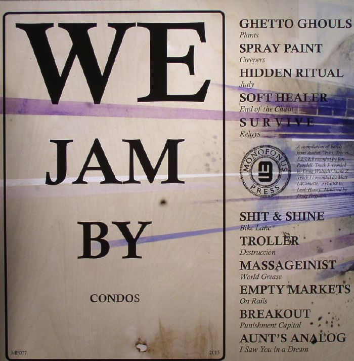 VARIOUS - We Jam By Condos