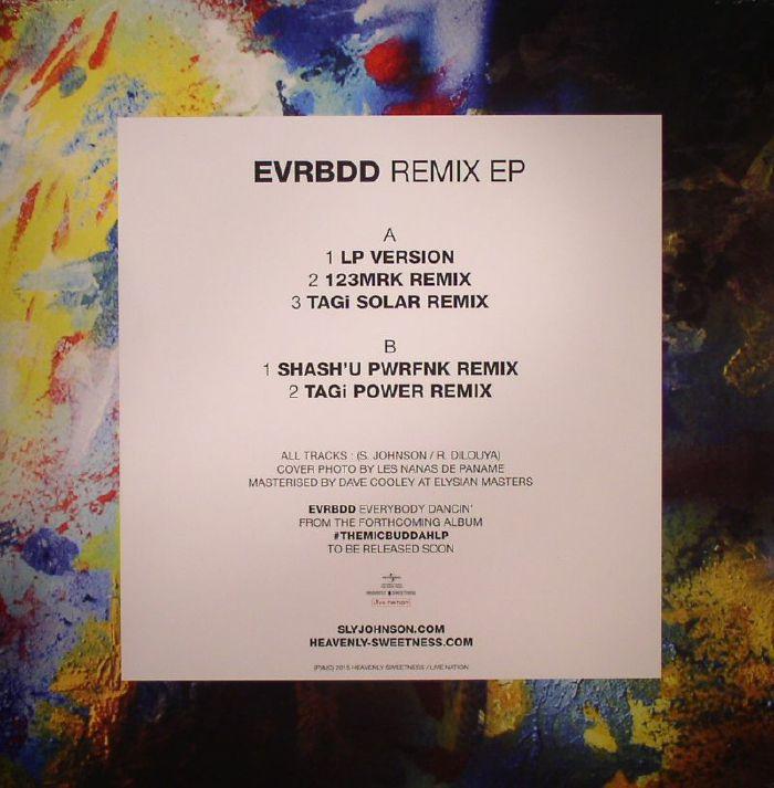 Sly Johnson Evrbdd Remix Ep Vinyl At Juno Records