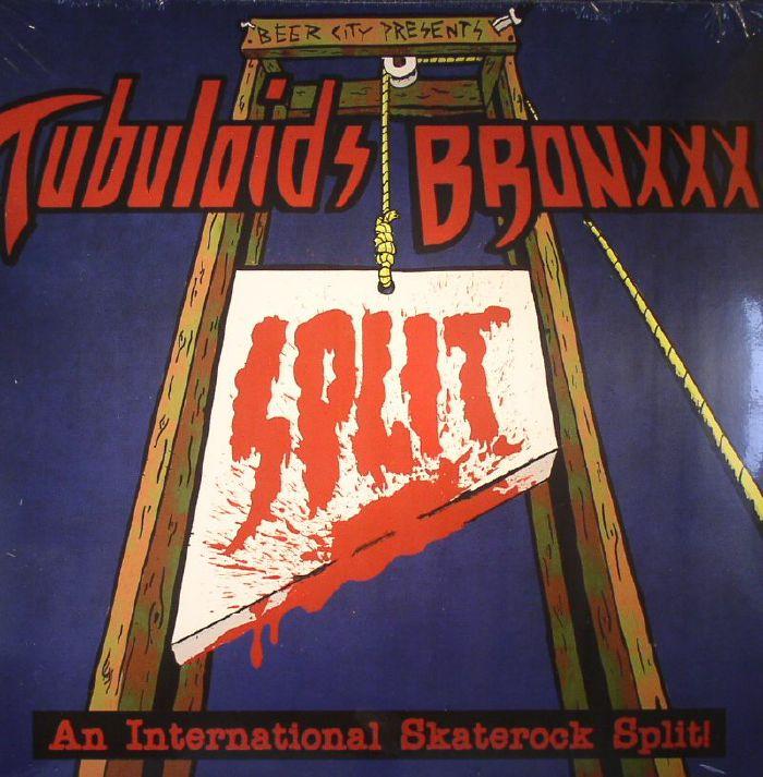 TUBULOIDS/BRONXXX - An International Skaterock Split (Record Store Day 2015)