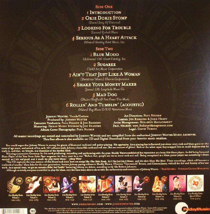 WINTER, Johnny - Live Bootleg Series Vol 4