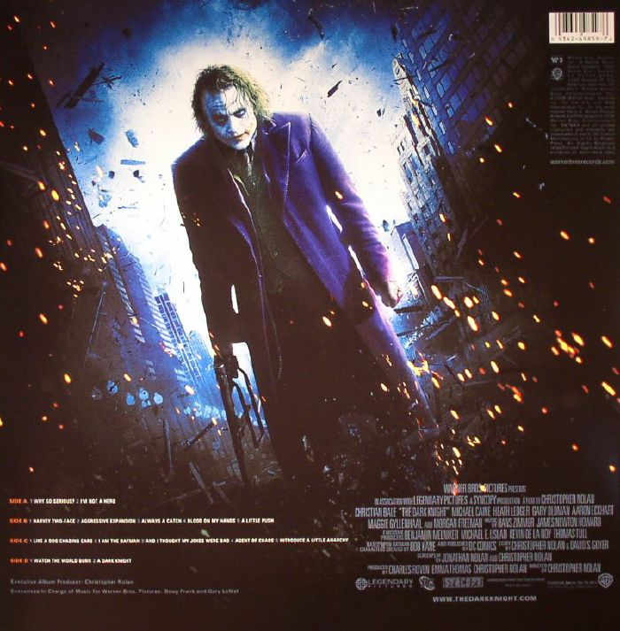 ZIMMER, Hans/JAMES NEWTON HOWARD - The Dark Knight (Soundtrack)