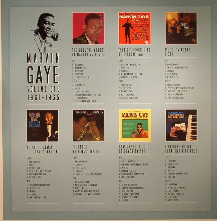 GAYE, Marvin - Volume One: 1961-1965