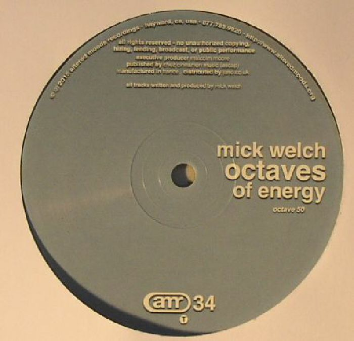 WELCH, Mick - Octaves Of Energy