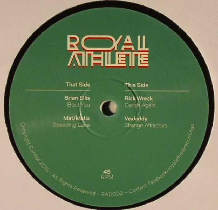 ELLIS, Brian/MAT MATIX/RICK WRECK/VEXKIDDY - Royal Athlete Vol 2