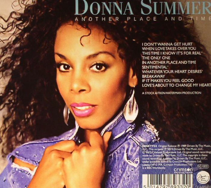 SUMMER, Donna - Another Place & Time