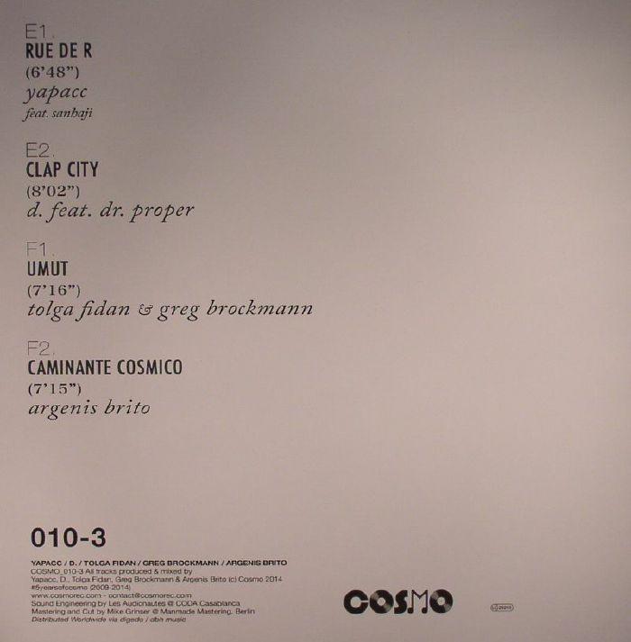YAPACC/D/TOLGA FIDAN/GREG BROCKMANN/ARGENIS BRITO - Vinyl III