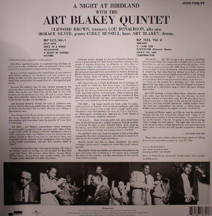 BLAKEY, Art - A Night At Birdland Vol 1 (remastered)