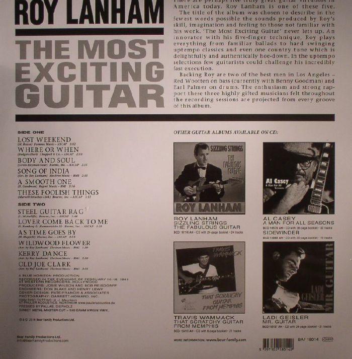Roy Lanham The Most Exciting Guitar Vinyl At Juno Records