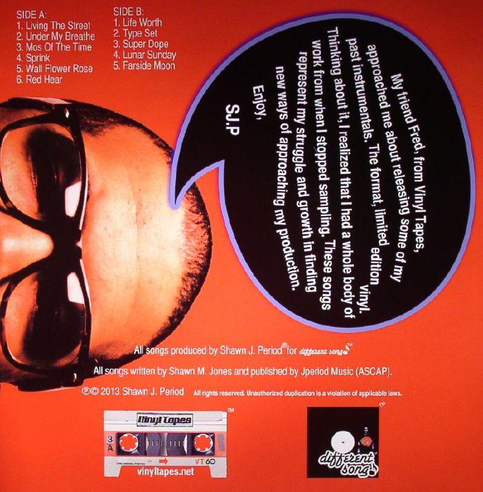 J PERIOD, Shawn aka SJP/J PERIOD - The Unspoken 90's Volume One