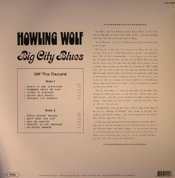 HOWLIN WOLF - Big City Blues