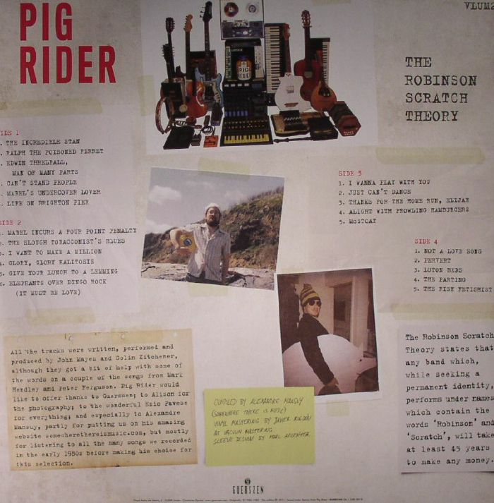 Pig rider the robinson scratch theory vinyl at juno records for Big fish theory vinyl