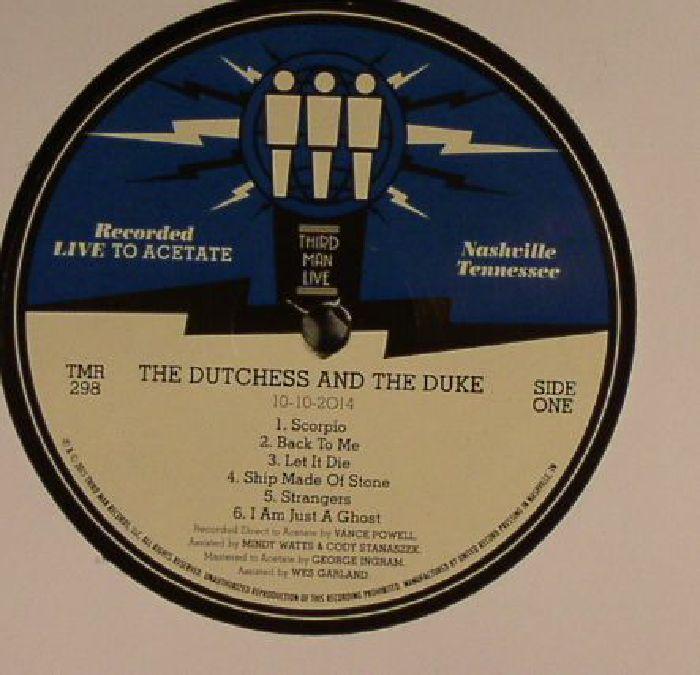 DUTCHESS & THE DUKE, The - Live At Third Man Records Nashville, TN