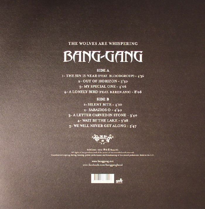 BANG GANG - The Wolves Are Whispering