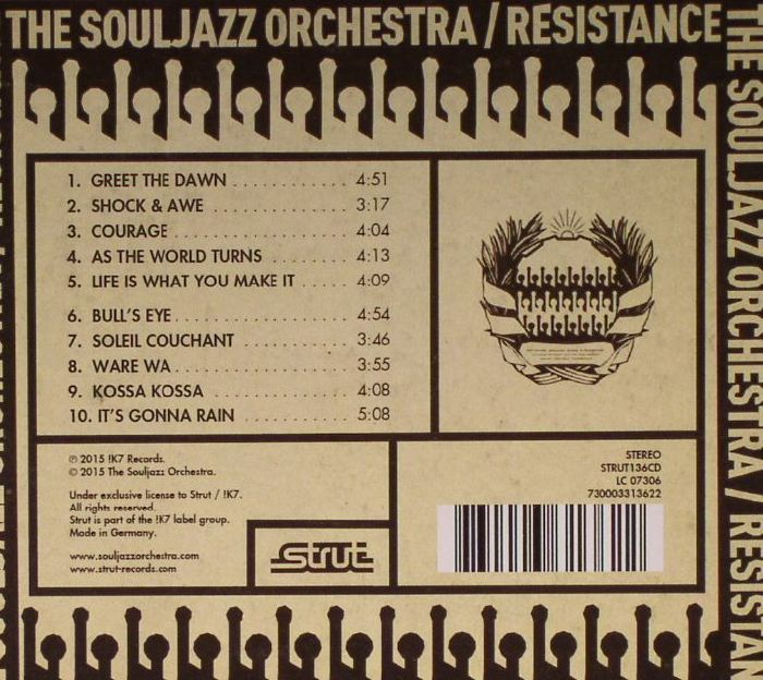 SOULJAZZ ORCHESTRA, The - Resistance