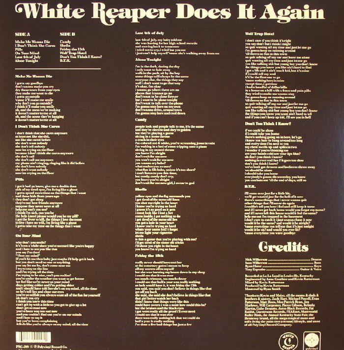 WHITE REAPER - White Reaper Does It Again