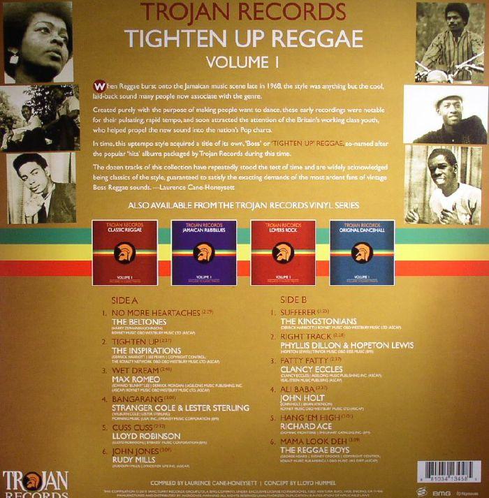 Various Trojan Records Tighten Up Reggae Volume 1 Vinyl