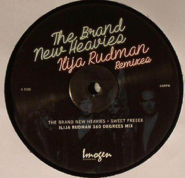 BRAND NEW HEAVIES, The - The Brand New Heavies (Ilija Rudman remixes)