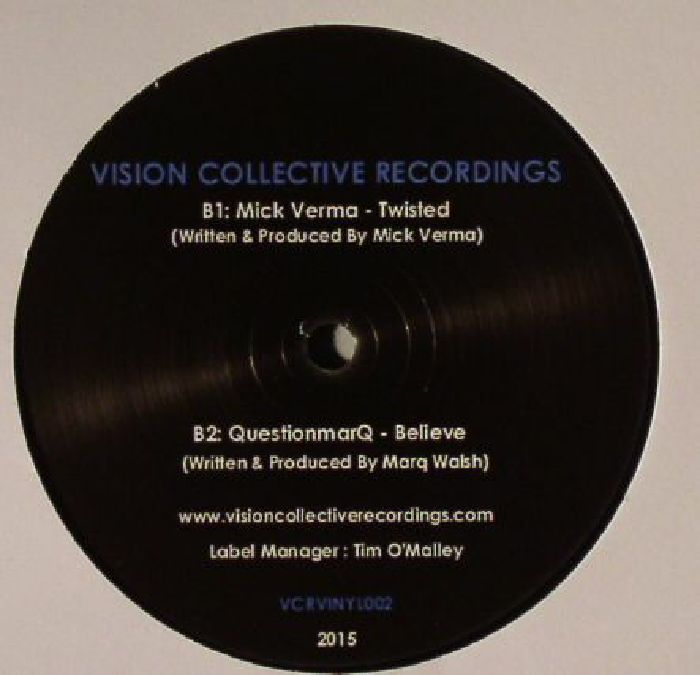 COLLINS, John/QUESTIONMARQ/MISS MOTIF/MICK VERMA - The Perception EP