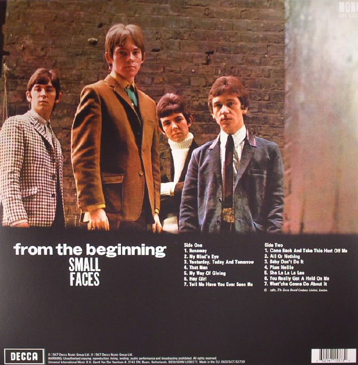 SMALL FACES - From The Beginning (mono)