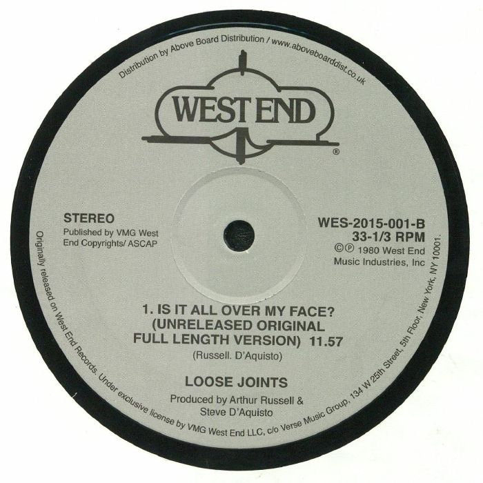 LOOSE JOINTS - Is It All Over My Face?