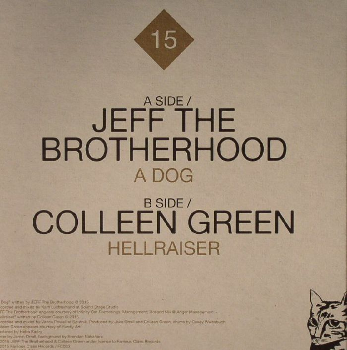 JEFF THE BROTHERHOOD/COLLEEN GREEN - Less Artists More Condos No 13