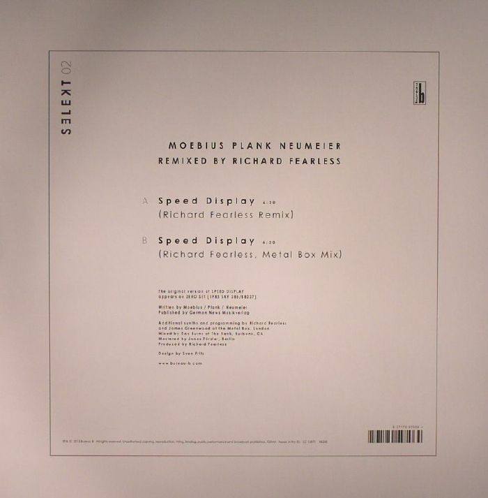 MOEBIUS/PLANK/NEUMEIER/RICHARD FEARLESS - Remixed By Richard Fearless