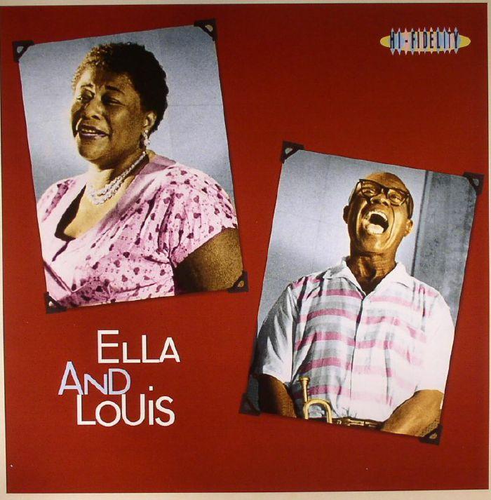Ella Fitzgerald Louis Armstrong Ella Amp Louis Vinyl At Juno