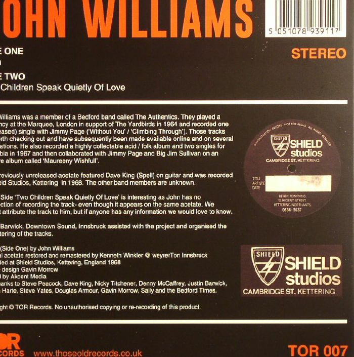 WILLIAMS, John - Train
