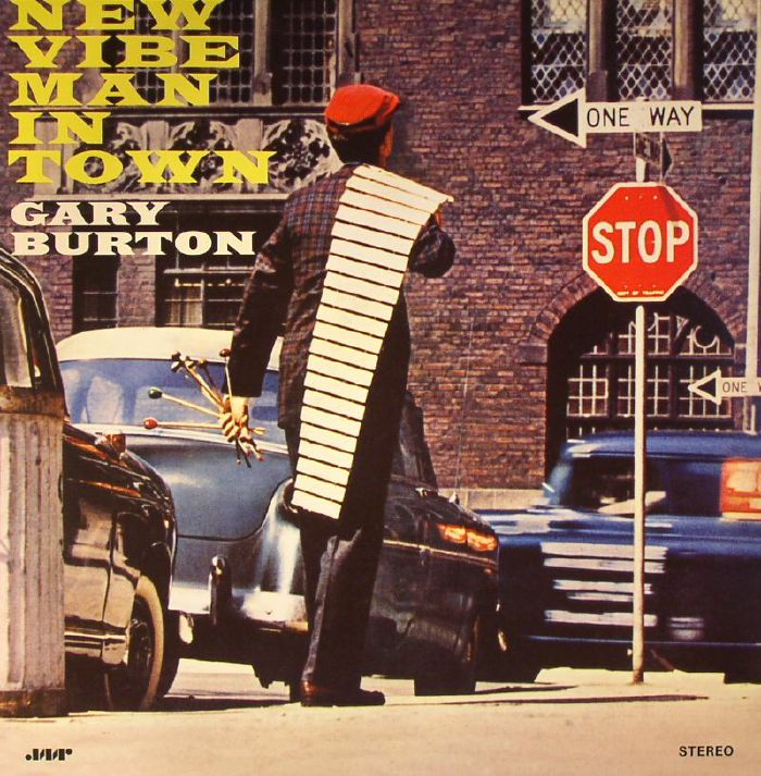 BURTON, Gary - New Vibe Man In Town (remastered)