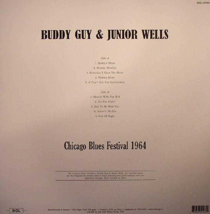 GUY, Buddy/JUNIOR WELLS - Chicago Blues Festival 1964