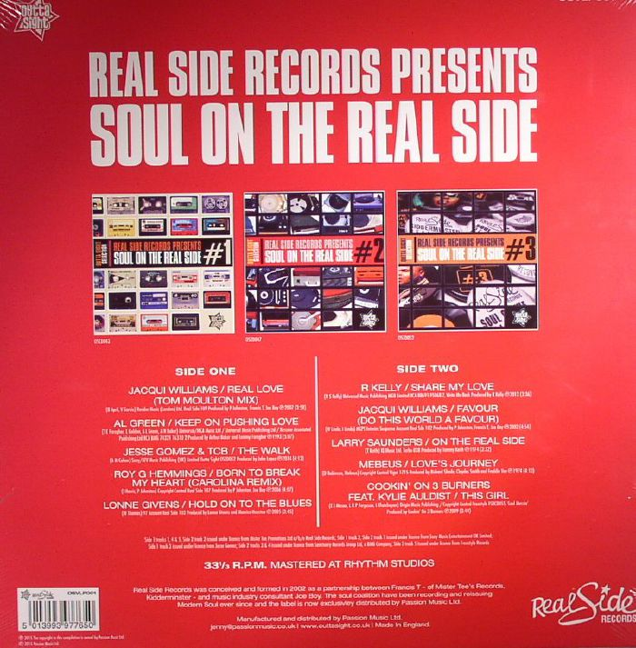VARIOUS - Realside Records Presents Soul On The Real Side #1