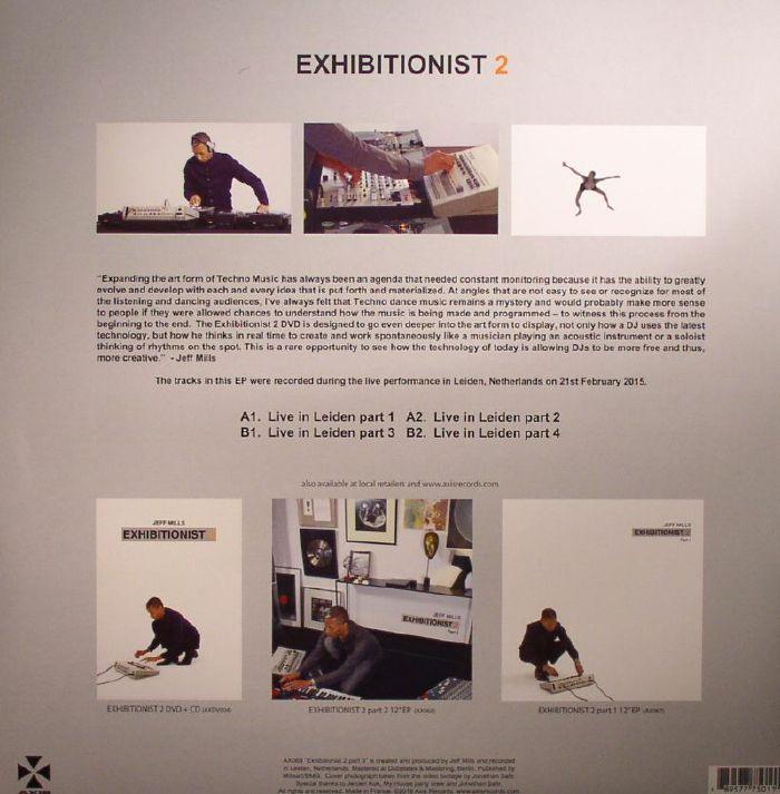 Jeff MILLS Exhibitionist 2 Part 3 Vinyl At Juno Records