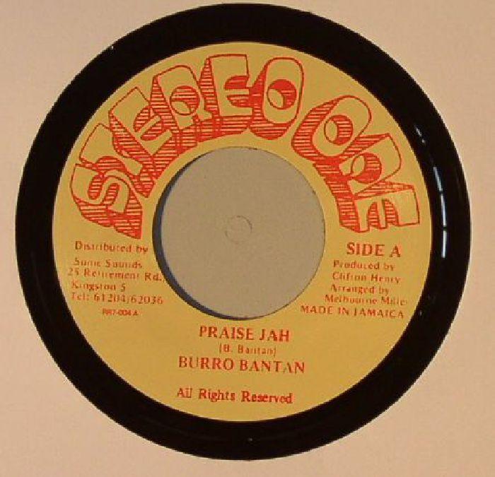 BANTON, Burro - Praise Jah