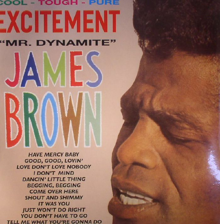 BROWN, James & HIS FAMOUS FLAMES - Excitement Mr Dynamite