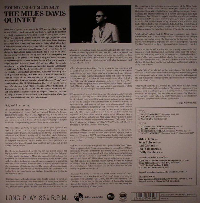DAVIS, Miles - Round About Midnight