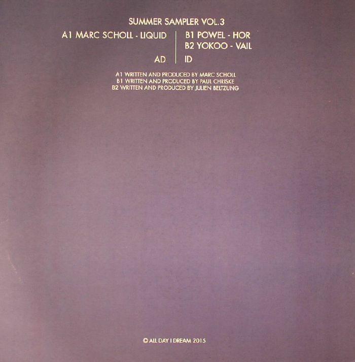 SCHOLL, Marc/POWEL/YOKOO - Summer Sampler Vol 3
