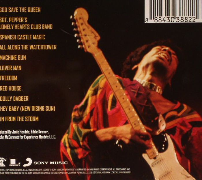 Jimi Hendrix Blue Wild Angel Live At The Isle Of Wright