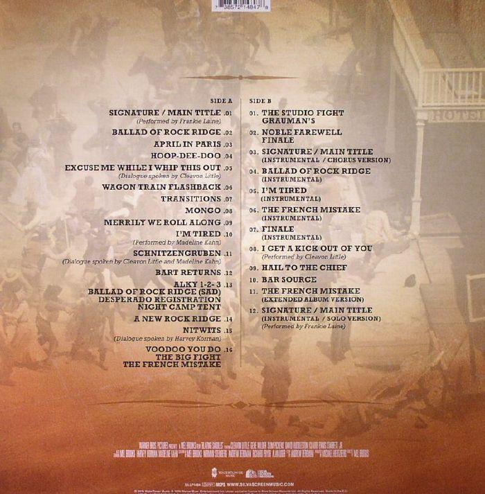BROOKS, Mel/JOHN MORRIS - Blazing Saddles (Soundtrack) (40th Anniversary Edition)