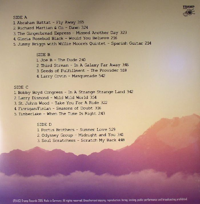 VARIOUS - Praise Poems Volume 2: A Journey Into Deep Soulful Jazz & Funk From The 1970s