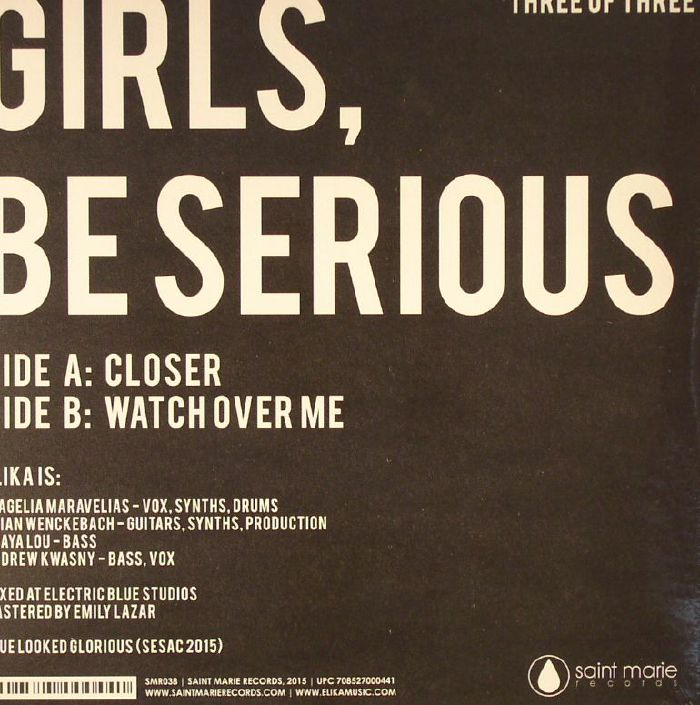 ELIKA - Girls Be Serious (Three Of Three)