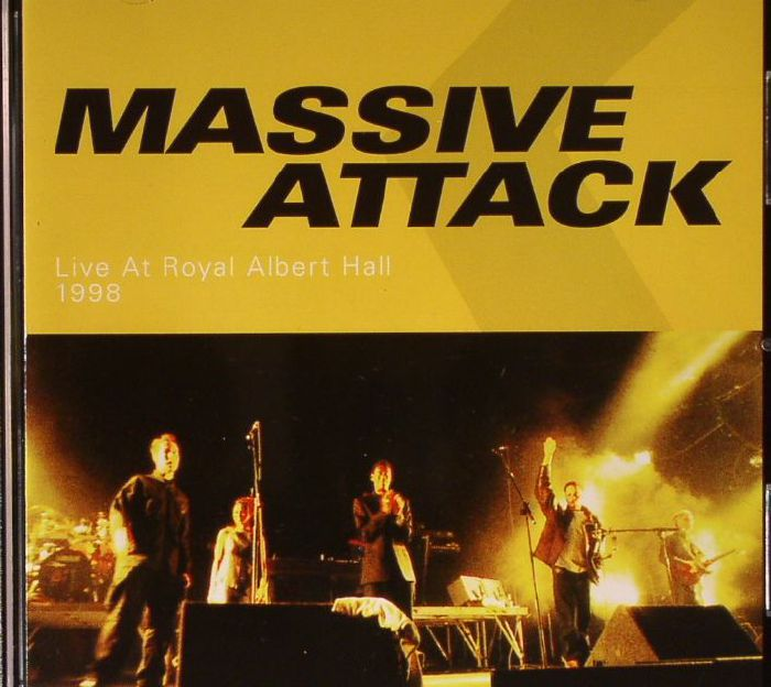 Massive attack live at royal albert hall 1998 vinyl at for Door 12 royal albert hall