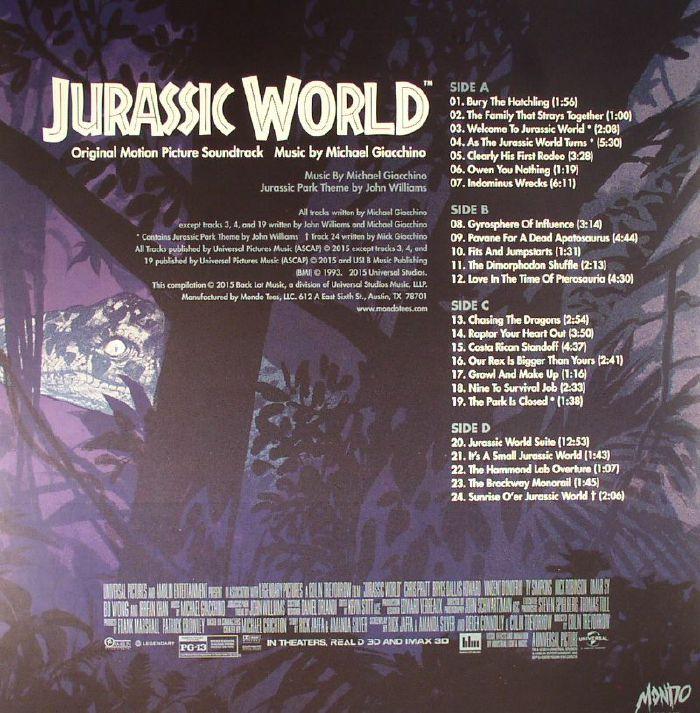 GIACCHINO, Michael - Jurassic World (Soundtrack)