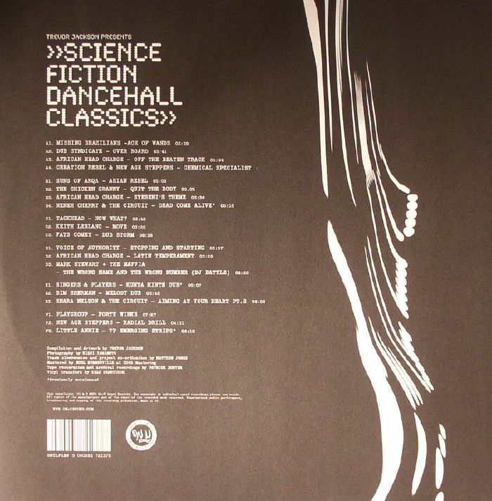 JACKSON, Trevor/VARIOUS - Science Fiction Dancehall Classics