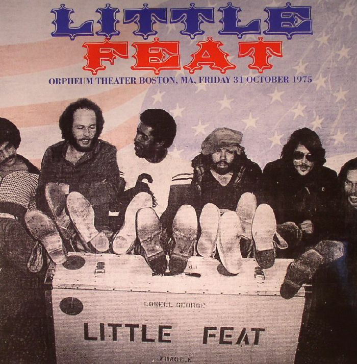 LITTLE FEAT - Orpheum Theater Boston MA Friday 31 October 1975 (remastered)