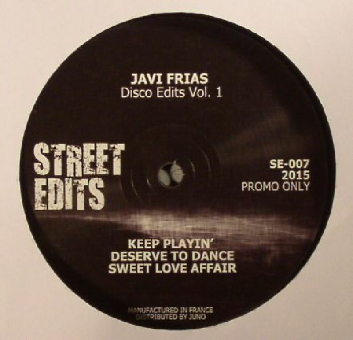 FRIAS, Javi - Disco Edits Vol. 1