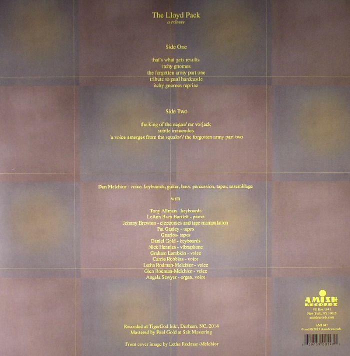 LLOYD PACK, The - A Tribute
