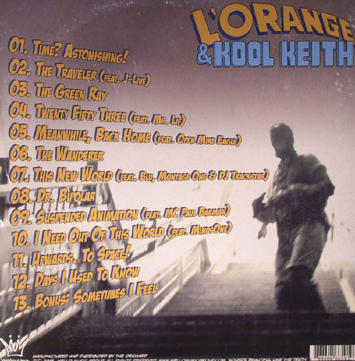L'ORANGE/KOOL KEITH - Time? Astonishing!