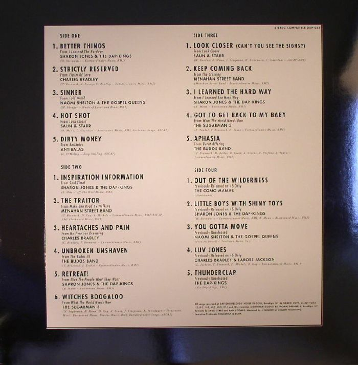 VARIOUS - Daptone Gold Vol II (Deluxe Edition)