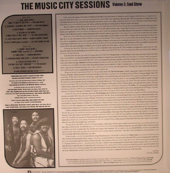 VARIOUS - The Music City Sessions: 3 In 1 Value Pack